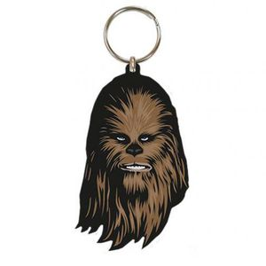 [Star Wars: Rubber Keychain: Chewbacca (Product Image)]