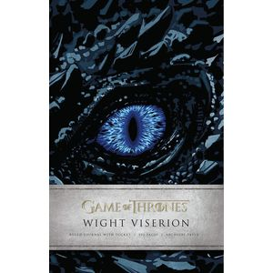 [Game Of Thrones: Ruled Journal: Wight Viserion (Hardcover) (Product Image)]
