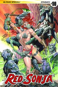 [Red Sonja #100 (Cover E Pablo Marcos Subscription Variant) (Product Image)]