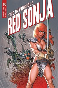 [Invincible Red Sonja #6 (Cover B Linsner) (Product Image)]