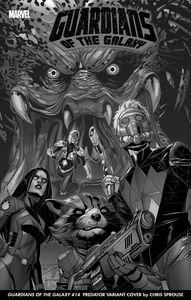 [Guardians Of The Galaxy #14 (Sprouse Predator Variant) (Product Image)]