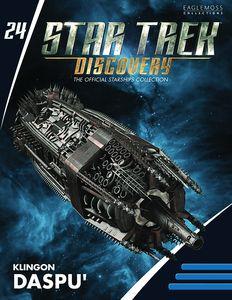 [Star Trek: Discovery Figurine Magazine #24: Klingon Daspu Class (Product Image)]