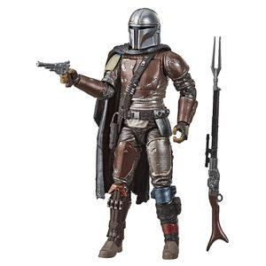 [Star Wars: Black Series Action Figure: The Mandalorian (Carbonized) (Product Image)]