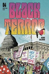 [Black Terror #4 (Cover B Fornes) (Product Image)]
