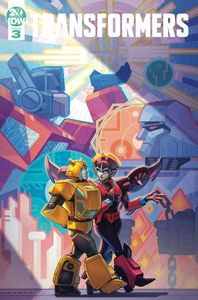 [Transformers #3 (Cover B Malkova) (Product Image)]