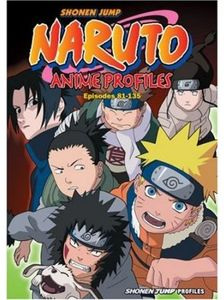 [Naruto Anime Profiles: Volume 3 (Product Image)]