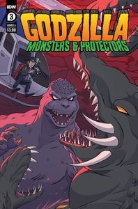 [Godzilla: Monsters & Protectors #3 (Cover A Dan Schoening) (Product Image)]