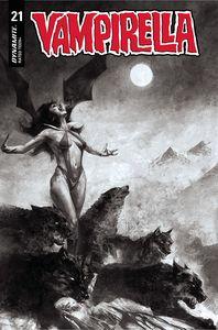 [Vampirella #21 (Mastrazzo Black & White Variant) (Product Image)]