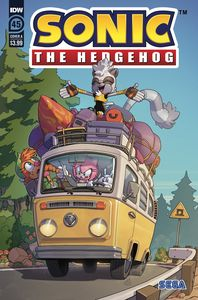 [Sonic The Hedgehog #45 (Cover A Stanley) (Product Image)]