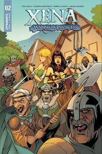 [Xena: Warrior Princess #2 (Cover B Lupacchino) (Product Image)]