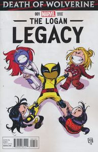 [Death Of Wolverine: Logan Legacy #1 (Skottie Young Variant) (Product Image)]