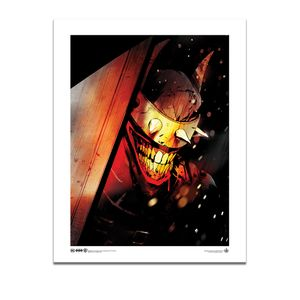 [DC: Batman: 11x14 Art Print: The Batman Who Laughs (Product Image)]