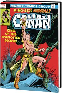 [Conan: The Barbarian: The Original Marvel Years: Omnibus: Volume 5 (Kane DM Variant Hardcover) (Product Image)]