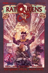 [Rat Queens: Special Neon Static (One-Shot) (Product Image)]