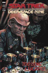 [Star Trek: DS9: Too Long A Sacrifice #3 (Cover B Photo) (Product Image)]
