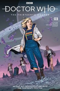 [Doctor Who: The 13th Doctor #3 (Cover A Isaacs) (Product Image)]