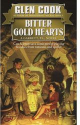 [The Garrett Files: Book 2: Bitter Gold Hearts (Product Image)]