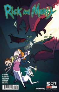 [Rick & Morty #23 (Incentive Variant King) (Product Image)]