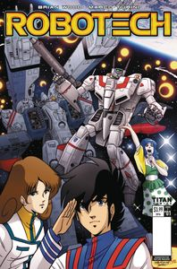 [Robotech #1 (Cover E Waltrip Bros Retro Variant) (Product Image)]