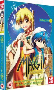 [Magi: The Labyrinth Of Magic: Season 1: Part 1 (Blu-Ray) (Product Image)]