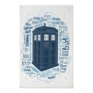 [Doctor Who: Tea Towel: Every Companion Ever (Product Image)]