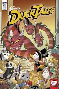 [Ducktales #10 (Cover B Ghiglione) (Product Image)]