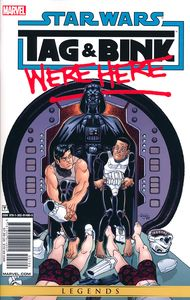 [Star Wars: Tag & Bink Were Here: Volume 1 (Product Image)]