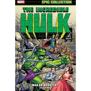 [Incredible Hulk: Epic Collection: Man Or Monster (New Printing) (Product Image)]