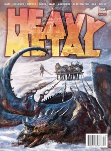 [Heavy Metal #304 (Cover A Dominicis) (Product Image)]