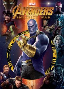 [Marvel: Die Cut Classic: Avengers: Infinity War (Hardcover) (Product Image)]