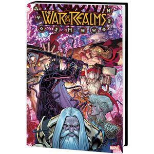 [War Of Realms: Omnibus (Adams Dm Variant Hardcover) (Product Image)]