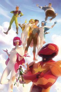 [Legion Of Super Heroes #6 (Card Stock Alex Garner Variant Edition) (Product Image)]