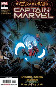 [Captain Marvel #6 (2nd Printing Martello Variant) (Product Image)]