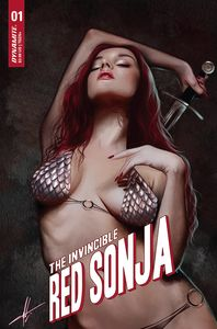 [Invincible Red Sonja #1 (Cohen Trade Dress Variant) (Product Image)]