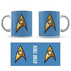 [Star Trek: The Original Series: The 55 Collection: Mug: Science Badge (Product Image)]