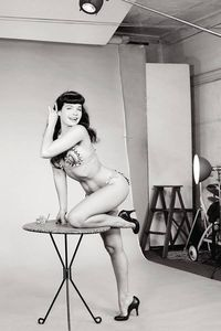 [Bettie Page #2 (Photo Virgin Variant) (Product Image)]