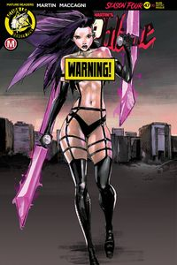 [Vampblade: Season 4 #10 (Cover F Celor Risque) (Product Image)]