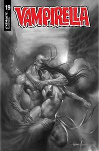 [Vampirella #19 (Parrillo Black & White Variant) (Product Image)]
