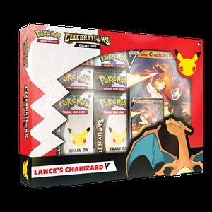 [Pokemon: Celebrations:  Lances Charizard V & Dark Sylveon V (Product Image)]
