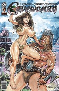 [Cavewoman: Barbarian Princess & Meriem (Cover A Massey) (Product Image)]