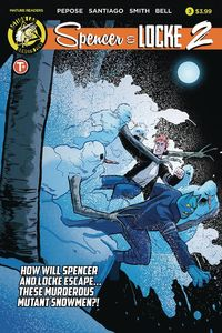 [Spencer & Locke 2 #3 (Cover A Santiago) (Product Image)]