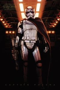 [Star Wars: The Force Awakens: Poster: Captain Phasma (Product Image)]
