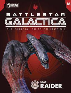 [Battlestar Galactica Ships Magazine #16: Cylon Raider (Scar) (Product Image)]