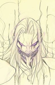 [Venom #27 (Peach Momoko Sketch Variant) (Product Image)]