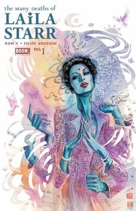 [Many Deaths Of Laila Starr #1 (Cover B Death Foil Variant) (Product Image)]