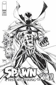 [Spawn #300 (Cover B Black & White Mcfarlane) (Product Image)]