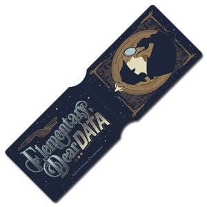 [Star Trek: The Next Generation: Travel Pass Holder: Elementary Dear Data (Destination Star Trek 2019 Exclusive) (Product Image)]