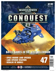 [Warhammer 40K: Conquest: Figurine Collection #47 (Product Image)]