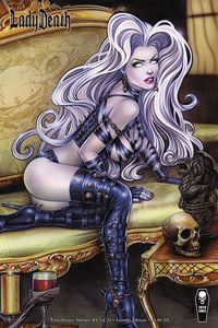[Lady Death: Treacherous Infamy #2 (Cover B Lounge Edition) (Product Image)]
