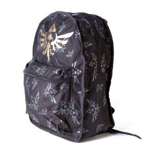 [Legend Of Zelda: Reversable Backpack: Zelda Black/Green (Product Image)]